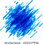 bright blue abstract background ... | Shutterstock .eps vector #652217956