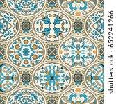 vector seamless texture.... | Shutterstock .eps vector #652241266