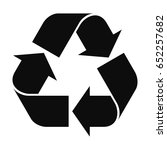 recycling symbol | Shutterstock .eps vector #652257682