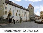 yverdon les bains  switzerland  ... | Shutterstock . vector #652261165
