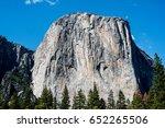 El Capitan At Yosemite Valley...
