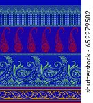 seamless paisley  indian motif | Shutterstock . vector #652279582