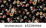 seamless floral pattern in... | Shutterstock .eps vector #652284466