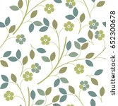 cute seamless pattern with... | Shutterstock .eps vector #652300678