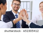 business people group business... | Shutterstock . vector #652305412