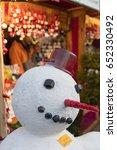 prague  cz   december 15  2016  ... | Shutterstock . vector #652330492