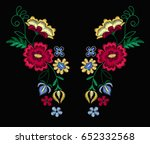 vector design for collar t... | Shutterstock .eps vector #652332568