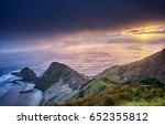 Small photo of Cape Renga New Zealand sunrise