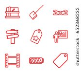 empty icons set. set of 9 empty ...   Shutterstock .eps vector #652368232