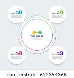 infographic diagram template... | Shutterstock .eps vector #652394368