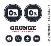 grunge post stamps. zero...