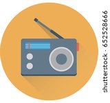 radio vector icon | Shutterstock .eps vector #652528666