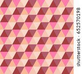 geometric pattern of colored... | Shutterstock .eps vector #652570198