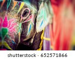 Small photo of Elephant. India, Jaipur, state of Rajasthan.