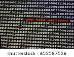 Small photo of computer code says cyber threat intelligence