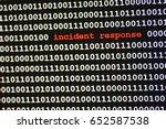 computer code says incident...   Shutterstock . vector #652587538