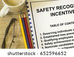 safety recognition and... | Shutterstock . vector #652596652