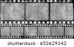 grunge frame or distressed... | Shutterstock .eps vector #652629142