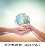 international human solidarity... | Shutterstock . vector #652649278