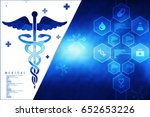 2d illustration health care and ... | Shutterstock . vector #652653226