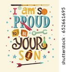 hand drawn typography poster.... | Shutterstock .eps vector #652661695