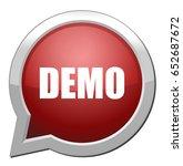 demo icon | Shutterstock .eps vector #652687672