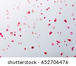 roses card  white floral... | Shutterstock . vector #652706476