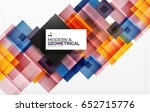corporate vector business... | Shutterstock .eps vector #652715776