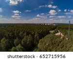 aerial photo of forest...   Shutterstock . vector #652715956