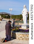 27 march 2009 medjugorje bosnia ... | Shutterstock . vector #652717552
