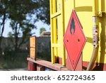 dangerous goods transport | Shutterstock . vector #652724365