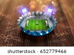 football championship in the... | Shutterstock . vector #652779466