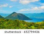 Taal Volcano On Luzon Island...