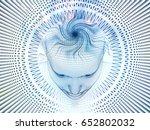 3d rendering   mind field... | Shutterstock . vector #652802032