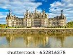 chateau de chambord  the... | Shutterstock . vector #652816378