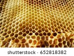 The Photo Shows Beehive Honey...
