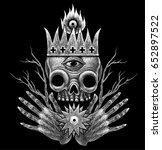alchemy  spirituality ... | Shutterstock . vector #652897522