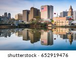 newark  new jersey  usa skyline ... | Shutterstock . vector #652919476