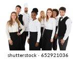 portrait of confident...   Shutterstock . vector #652921036