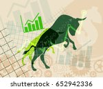 financial and stock investment... | Shutterstock .eps vector #652942336