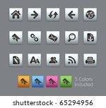 web navigation    satinbox... | Shutterstock .eps vector #65294956