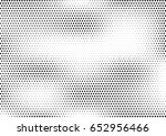 abstract halftone dotted... | Shutterstock .eps vector #652956466