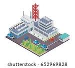 modern isometric radio and... | Shutterstock .eps vector #652969828