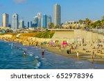 tel aviv  israel   june 02 ... | Shutterstock . vector #652978396