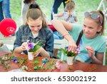 zaporizhia ukraine  may 28 ... | Shutterstock . vector #653002192