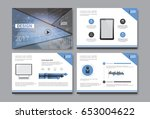 template design brochure ... | Shutterstock .eps vector #653004622