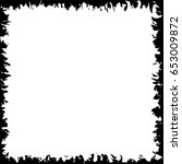 banner square white with... | Shutterstock .eps vector #653009872