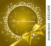 christmas background. vector... | Shutterstock .eps vector #65311408