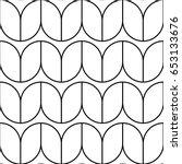 herringbone motif. zigzag... | Shutterstock .eps vector #653133676