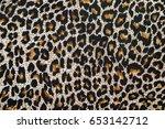 Leopard Pattern Texture....